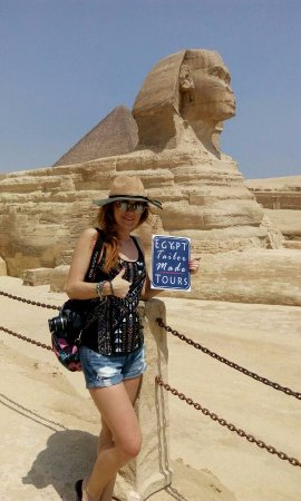 Egypt Tailor Made Day Tours: Solo traveller with Egypt Tailor Made Tours