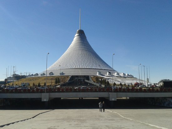 Astana, Kazakistan: Khan Shatyr exterior