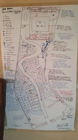 Riad Atlas Kasbah: Map of the ecological attributes of the hotel