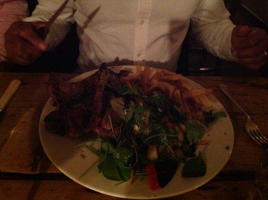 Tottenhill, UK : Lamb chops