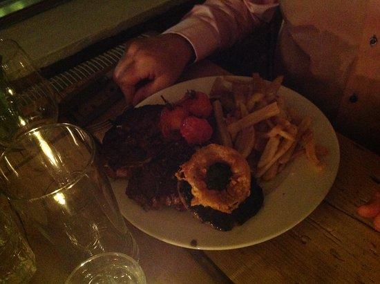 Tottenhill, UK : T bone steak