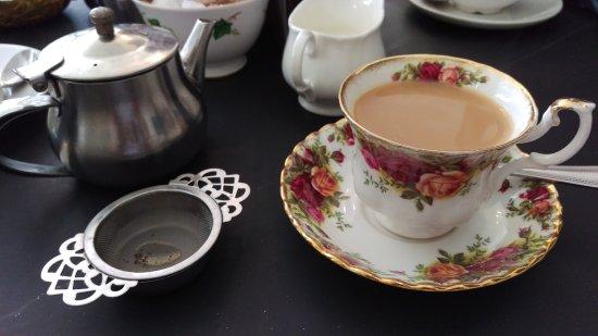 Baldry's Tea Room: The tea was beautiful!