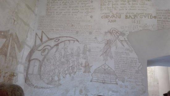 Palazzo Steri - Chiaramonte - Carcere dei penitenziati : graffiti