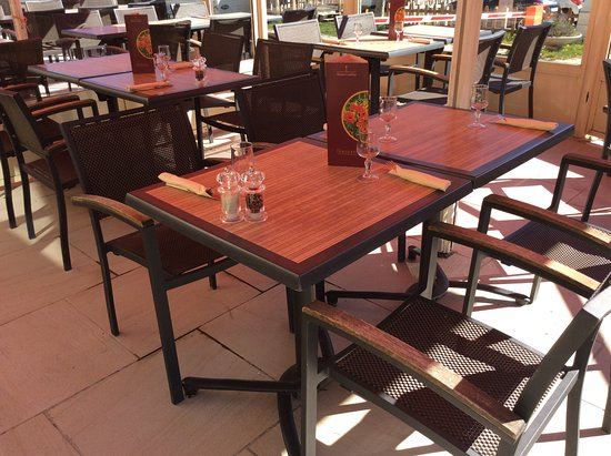 Restaurant La Table du Campagnard: terrasse