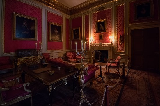 Belton House: One of the many rooms you will find in the house.