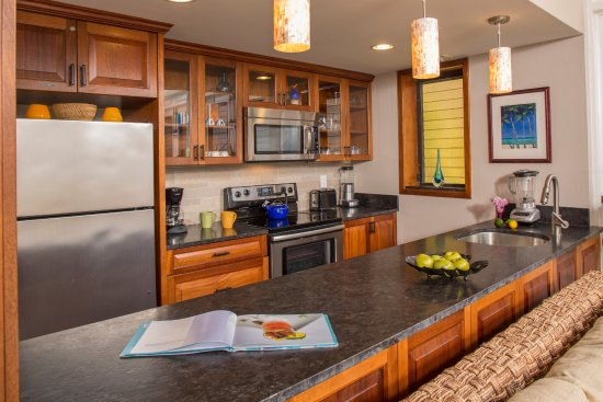 Gallows Point Resort: Every suite has its own fully equipped kitchen