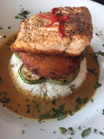 Edmond, OK: Salmon Curry