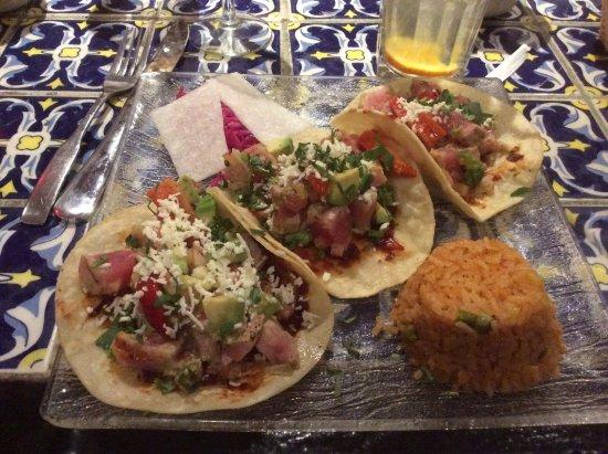 Casa Romero: Tuna tacos