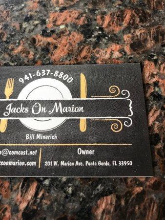 Jack's on Marion : photo0.jpg