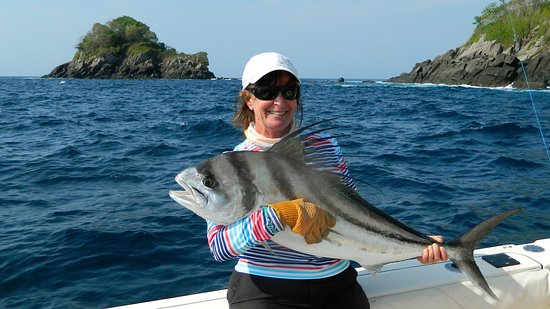 Boca Chica, Panama/Panamá: Love those Rooster fish!