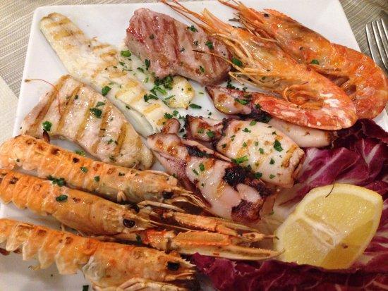 La Piazzetta : grigliata di pesce