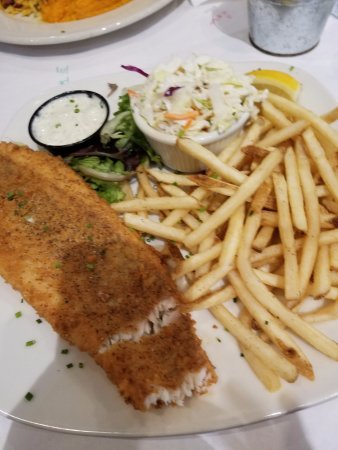 Lightly fried flounder that i had started to eat it was for Big fish grill on the riverfront wilmington de