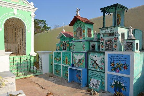 Γιουκατάν, Μεξικό: pequeño cementerio