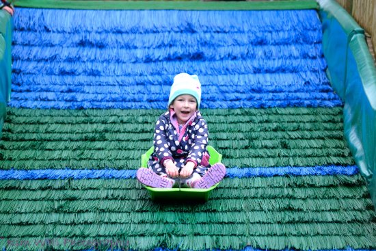 Y Felinheli, UK: Kids slide
