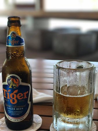 Cocoa Island by COMO: Popular, with good cause, Tiger Beer.
