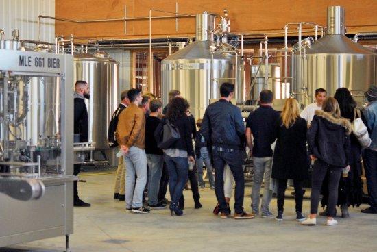 Montblanc, Frankrike: Visites de la brasserie