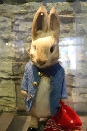 Bowness-on-Windermere, UK: Peter Rabbit