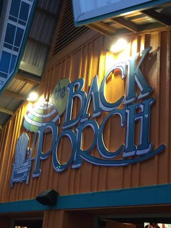 The Back Porch: We never leave Destin before we eat here! Great location even better fresh seafood. Get here ear