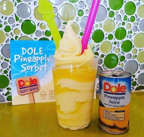 Springfield, OR: Dole whip float!