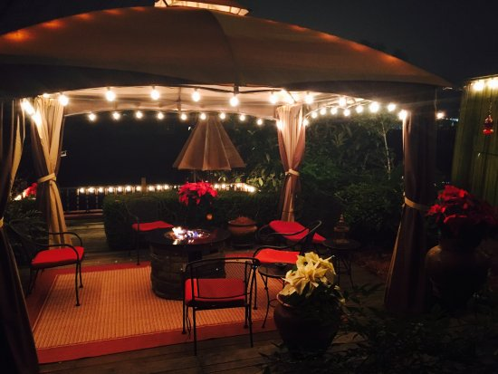 Natchitoches, LA: Outside deck with Pergola