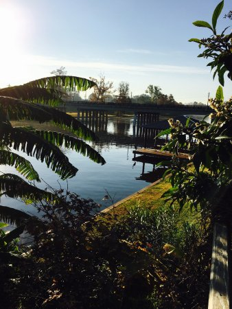 Natchitoches, Луизиана: Sunrise on the river