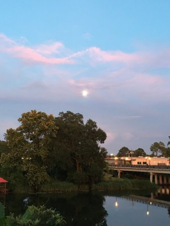 Natchitoches, Луизиана: Sunset on the river