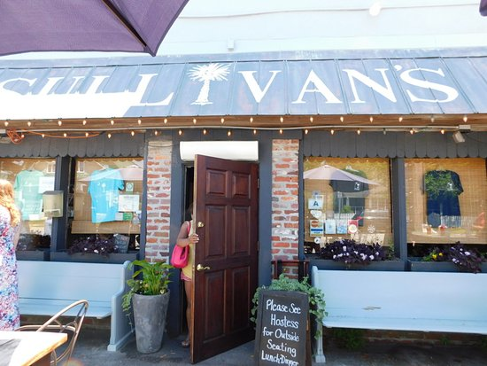 Entrance Picture Of Sullivans Restaurant Sullivans Island