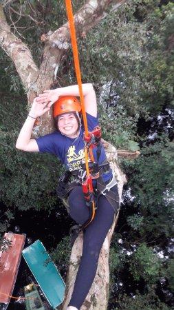 Amazon Tree Climbing: Esperando o Tarzan... será que ele vem? rs