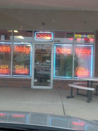 Hillsborough, NJ: Chicken Holiday, store front