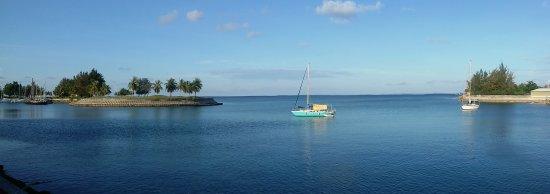 Kudat Golf and Marina Resort: Sea view room, Kudat bay.