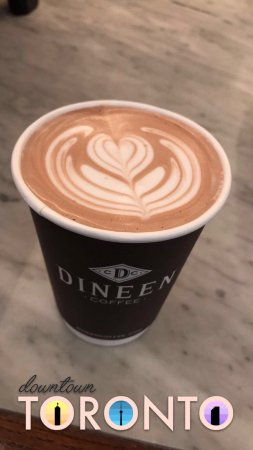 Photo of Cafe Dineen Coffee Company at 140 Yonge St, Toronto M5C 1X6, Canada