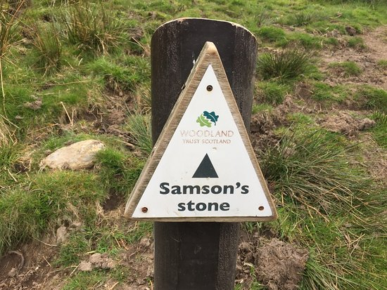 Samson's Putting Stone