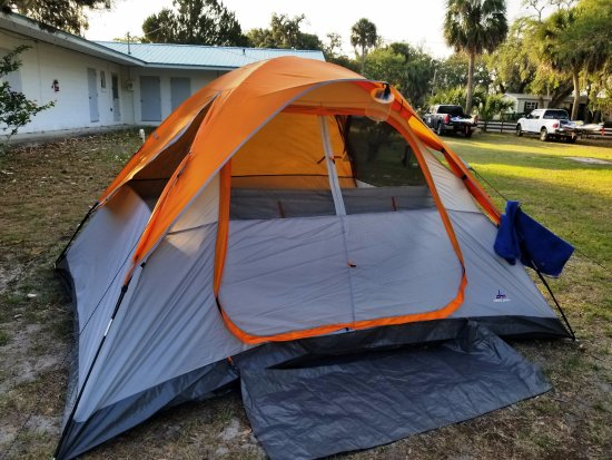Suwannee, FL: Tent site
