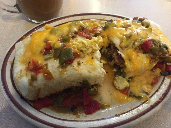 Breakfast Burrito Picture Of Frontier Restaurant Albuquerque Tripadvisor