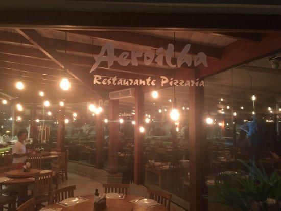 Aeroilha - Restaurante & Pizzaria: Fachada