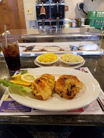 Pine Brook, Nueva Jersey: stuffed fish fillet.