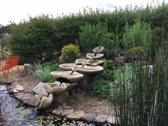 Quivira Vineyards : Quivira outdoor fountain