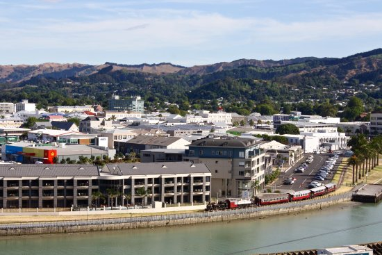 Gisborne, New Zealand: View from top