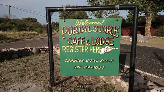 Portal, AZ: we are here