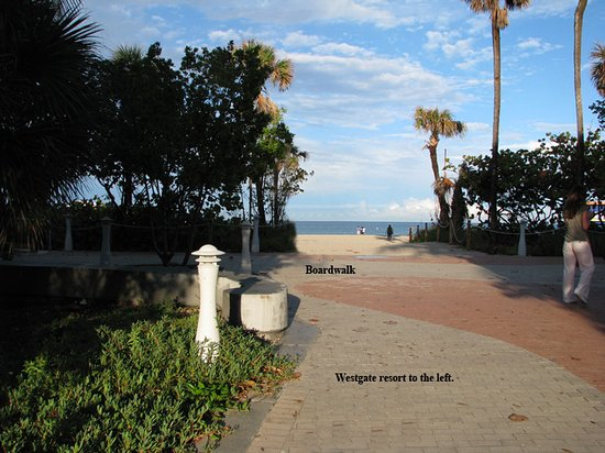 Westgate South Beach Oceanfront Resort: Hop, skip and a jump away from the boardwalk and beach