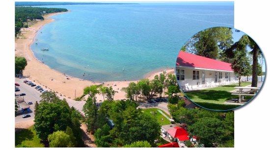 Balm Beach, Canada : Ariel View