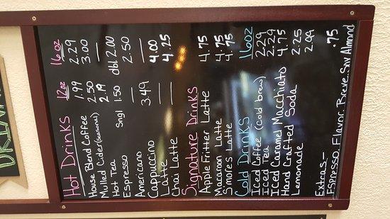 Nora Jeans Koffee Kitchen Black Canyon City Az
