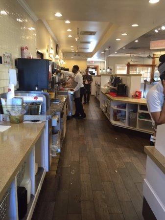 Bob Evans: Behind the counter