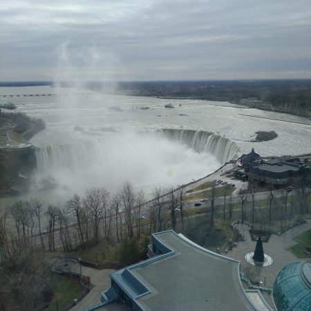 View from the Fallsview Casino Resort Hotel.
