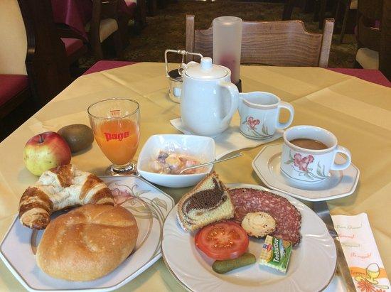 Hotel Garni Dietrich : Frühstück