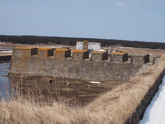 Louisbourg, Canadá: Part of the fortress