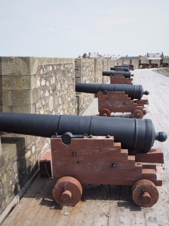 Louisbourg, Canada: Cannons