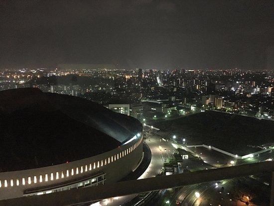 ヒルトン福岡シーホーク, この夜景は綺麗でしたよ