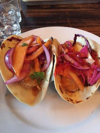 ลองบีช, นิวยอร์ก: scrumptous shrimp tacos