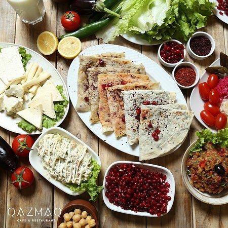 Azerbaijan cuisine kutab picture of qazmaq cafe for Azerbaijan cuisine